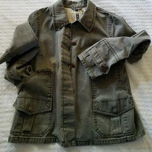 J.Crew utility jacket.